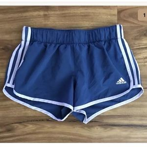 Adidas Small Aktiv Blue Running Climalite Shorts